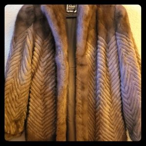 Mink FUR coat real